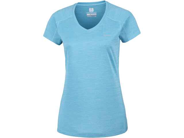 Columbia Zero Rules T-shirt à manches courtes Femme, atoll heather